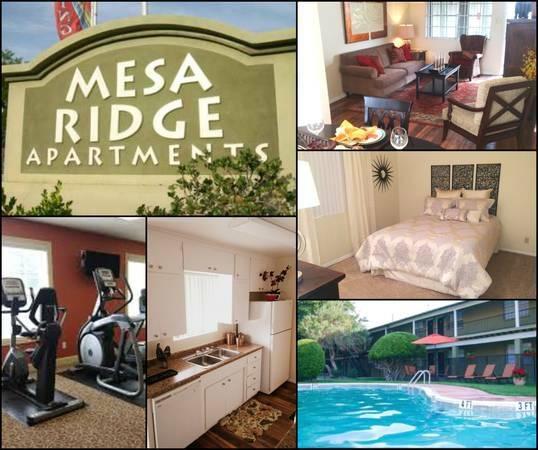 Mountain Ridge Apartments: MESA RIDGE APARTMENTS