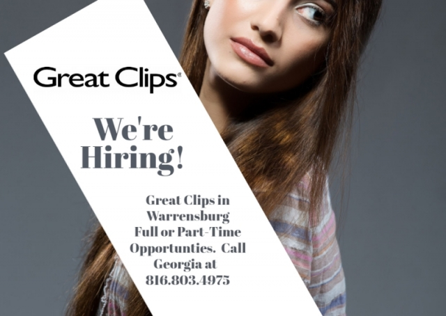 Whiteman AFB, MO | Hair Salons | Great Clips for Hair