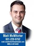F&M BANK - Matt McWhirter NMLS: 874403